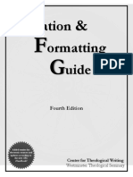 CTW Resource_Citation and Formatting Guide_Fourth Edition