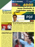 Jonas Donizette é Legislador nota 10!