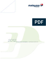 Malaysia Airlines Environmental Report 2012