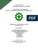 Dokumensaya.com Laporan Pkl Ak3 Umum Kelompok 2
