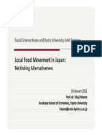 Local Food Movement in Japan _hisano