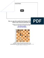Paul Morphy's Winning Moves
