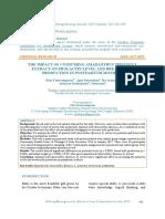 The Impact of Consuming Amaranthus Spinosus l