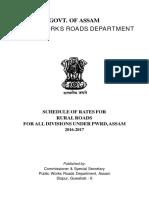 SOR for Rural Roads