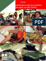 Agenda Agroalimentaria Sur Del Tolima