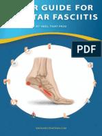 Plantar Fasciitis Guide