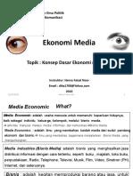 2. Basic Concept Ekonomi Media