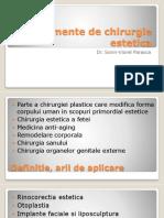 Elemente de Chirurgie Estetica