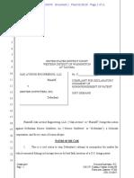 Oak Avenue Engineering v. Denver Outfitters - Complaint