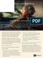 Older Adults and Depression (NIMH Brochure)