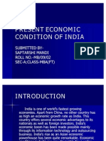 Present Economic Condition of India