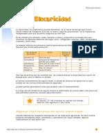 Calsificacion de Electricidad