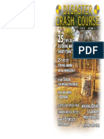 Disaster Crash Course Digest Vol I Home Edition