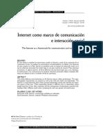 Internet y comunicación