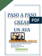 Manual Para Crear Un Ava - Con Mil Aulas Moodle
