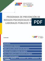 Programa de Prevención de Riesgos Psicosociales en Espacios