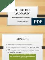 El Adverbio Aun