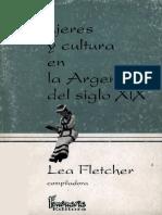 Mujeres y Cultura en La Argentina Del Siglo XIX