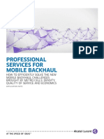 Professional Services for Mobile Backhaul en AppNote