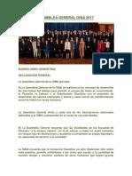 asamblea general oina 2017