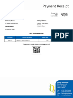 PR AIN1737 SMS Invoice Receipt