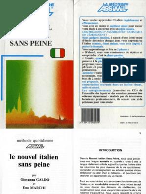 GRATUITEMENT PEINE SANS ASSIMIL PDF TÉLÉCHARGER ITALIEN