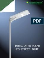 Datasheet of Solar Street Light