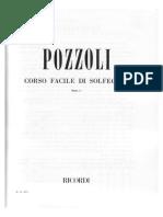 POZZOLI - Corso Facile Di Solfeggio1