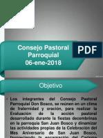 CONSEJO PASTORAL PARROQUIAL