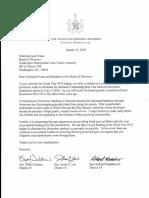 Letter from Maryland legislators to Metro on Grosvenor turnback.