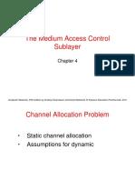 Chapter4-MediumAccessControlSublayer