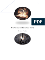 Pseudoscience of Philosophies Part 2