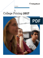 2017 Trends in College Pricing