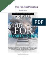 Motivation for Manifestation