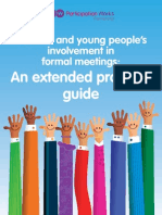 Children and young people's involvement in formal meetings