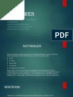 Naturales, Servicios y Seguridad Precentacion 3E