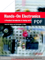 Hands on Electronics a Practical Introduction to Analog and Digital Circuits by Daniel M Kaplan and Christopher G White (1)