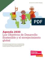 Agenda 2030 Los Objetivos de Desarrollo Sostenible y El Envejecimiento Global (1)