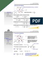 MC-2431 Dinámica Sistemas Partículas I Y II Ley de Newton