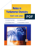 Notes in Fundamental Chemistry
