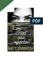 Robbinson Miki T - Las Cosas Que Importan