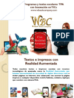 Textos y Programas WBC 2018