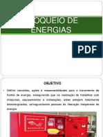 Bloqueio de Energia