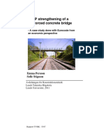 CFRP Strengthening of a Reinforced Concrete Bridge