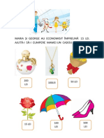 Maria Și George Au Economisit Împreună 15 Lei
