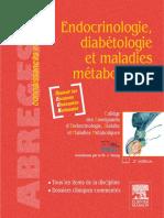 Endocrinologie Diabetologie Et Maladies Metaboliques