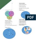 Conjuntos en Forma Enumerativa, Descriptiva, Grafica