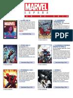 Catálogo de Marvel de Febrero de 2018
