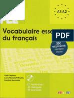 Vocabulaire Essentiel Du Francais A1-2