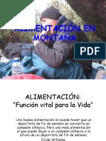Giulianno-Bozzo-Moncada ALIMENTACIÓN en MONTAÑA